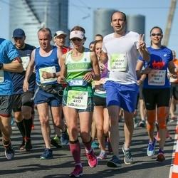 Lattelecom Riga Marathon - Aleksey Sutyagin (3830), Giedrė Lukaševičienė (4113)