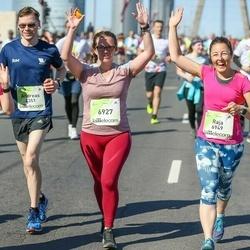 Lattelecom Riga Marathon - Andreas Wilke (4351), Agnese Girviča (6927), Raja Avetisjans (6949)