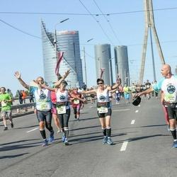 Lattelecom Riga Marathon - Claudia Shenshakir (5656), Yael Hoffen (5664), Eitan Yeger (5676), Alon Yeger (5677)