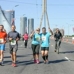 Lattelecom Riga Marathon - Ints Tirkovskis (2008), Agris Belte (6947), Georgs Avetisjans (6948), Signe Tirkovska (7344)