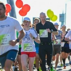 Lattelecom Riga Marathon - Anastasia Ahremko (6662), Egil Fjeldberg (6957)
