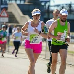 Lattelecom Riga Marathon - Aleksandr Blynskikh (1528), Aliona Aliushkevich (5387)