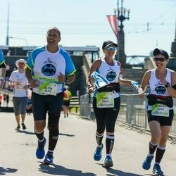 Lattelecom Riga Marathon - Claudia Shenshakir (5656), Yael Hoffen (5664), Alon Yeger (5677), Manny Shahak (5678)