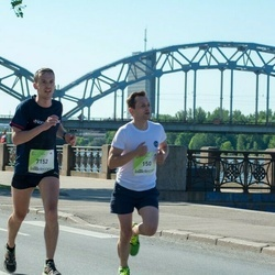 Lattelecom Riga Marathon - Aivis Briedis (150), Jānis Šneiders (7152)