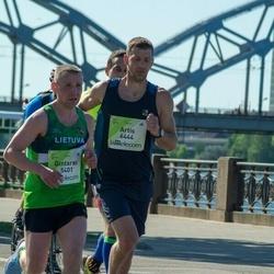 Lattelecom Riga Marathon - Gintaras Andruška (5401), Artis Ķemeris (6444)