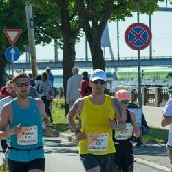 Lattelecom Riga Marathon - Filatov Igor (624), Glekov Kostia (625)