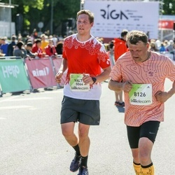 Lattelecom Riga Marathon - Valts Priede (5064), Alis Kunšteine (8126)