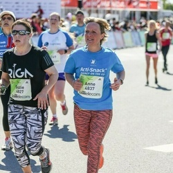 Lattelecom Riga Marathon - Suzie Fitzpatrick (4827), Anne Morrow (4837)