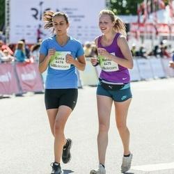 Lattelecom Riga Marathon - Nelda Rancane (6475), Ginta Kristkalne (6476)