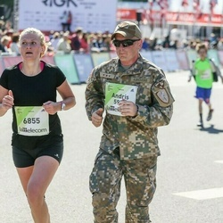 Lattelecom Riga Marathon - Andris Bruveris (5920), Agnese Brūvere (6855)