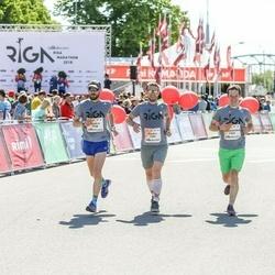 Lattelecom Riga Marathon - Konstantīns Biktimirovs (1907), Gunārs Ķeģis (1908), Ainārs Kumpiņš (1909)