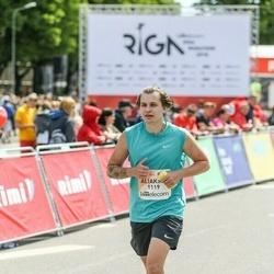 Lattelecom Riga Marathon - Aliaksei Buyasau (1119)