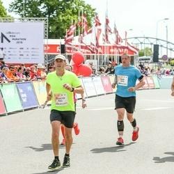 Lattelecom Riga Marathon - Ainārs Gudēvics (555), Andi Toomsalu (1076)