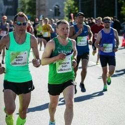 Lattelecom Riga Marathon - Gintaras Andruška (5401), Antis Zunda (6007)