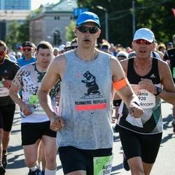Lattelecom Riga Marathon - Jānis Caics (920), Agris Meilerts (5080)