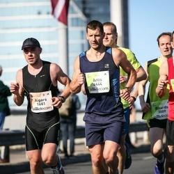 Lattelecom Riga Marathon - Aigars Kalējs (1681), Uldis Putniņš (3374), Artis Ķemeris (6444)