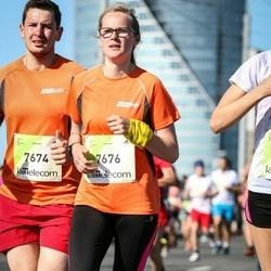 Lattelecom Riga Marathon - Agnis Apinis (7674), Inese Upīte (7676)