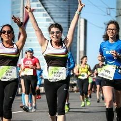 Lattelecom Riga Marathon - Bareket Aksenfeld (4045), Gilat Ben Abu (5636), Elīna Kabaļina (7896)