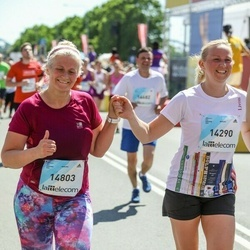 Lattelecom Riga Marathon - Daiga Gavariņa (14290), Aiga Rozenberga (14803)