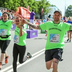 Lattelecom Riga Marathon - Anke Doant (9532), Felix Puntke (9533), Theresa Eckert (9535)