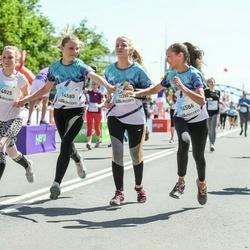 Lattelecom Riga Marathon - Linda Mežale (12280), Elizabete Krievāne (14585), Rūta Alvīne Lībere (14586), Alvīne Katrīna Tirzīte (14825)