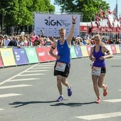 Lattelecom Riga Marathon - Aimur Kütt (292), Viktoria Kütt (293)