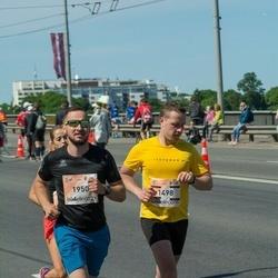 Lattelecom Riga Marathon - Rihards Dziedātājs (1498), Vladislavs Aļehnovičs (1950)