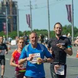 Lattelecom Riga Marathon - Aleksandrs Antonovs (350), Artūrs Dedzis (1883)