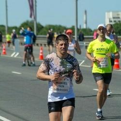 Lattelecom Riga Marathon - Manuel Venzala Fernández (1624)