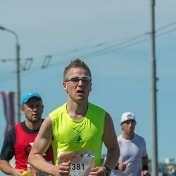 Lattelecom Riga Marathon - Jānis Pauliņš (1381)