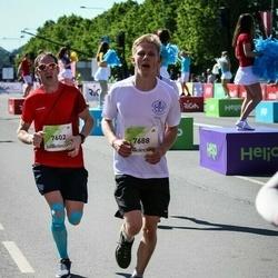 Lattelecom Riga Marathon - Aivars Braučs-Jusupovs (7602), Emīls Kvālis (7688)