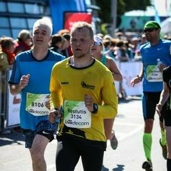 Lattelecom Riga Marathon - Kęstutis Grigėnas (3134), Andris Strazdiņš (8106)