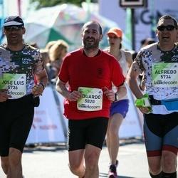 Lattelecom Riga Marathon - Alfredo Sanchez Sender (5734), Jose Luis Torres Fernandez (5736), Eduardo Gonzalez Garcia (5820)