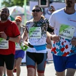 Lattelecom Riga Marathon - Alfredo Sanchez Sender (5734), Eduardo Gonzalez Garcia (5820), Jānis Zemītis (7234)
