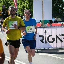 Lattelecom Riga Marathon - Agnė Jurgaitytė-Avižinienė (4093), Manuel Hassel (8125)