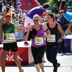 Lattelecom Riga Marathon - Emilija Čeponė (4461), Andra Hurvits (4471), Jurate Simkuviene (8177)