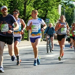Lattelecom Riga Marathon - Eugene Levkin (7549), Diāna Jakubjaņeca (8212)