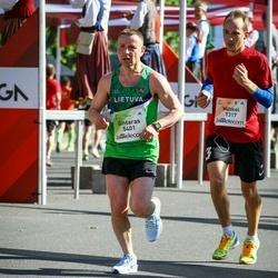 Lattelecom Riga Marathon - Mihkel Annilo (1317), Gintaras Andruška (5401)