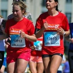 Lattelecom Riga Marathon - Agnese Tērauda (13912), Kristīne Brimere (13913)