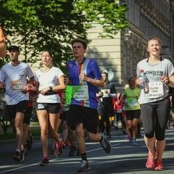 Lattelecom Riga Marathon - Aleksejs Titovičs (501), Gunta Nalivaiko (1836), Gawain Joest (6819)