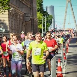 Lattelecom Riga Marathon - Ilvars Koscinkevičs (4308), Kristīne Antoņeviča (7093), Aija Jekševica (8376)