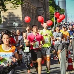 Lattelecom Riga Marathon - Elvis Millers (5914), Jānis Lapsiņš (5915), Laura Legzdiņa (5979), Eve-Piia Maidla (7268)