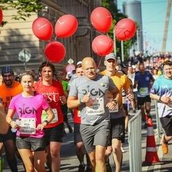 Lattelecom Riga Marathon - Ainārs Gudēvics (555), Jānis Sīpols (1810), Aija Freiberga (1921)