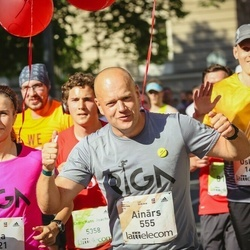 Lattelecom Riga Marathon - Ainārs Gudēvics (555), Oskars Zomerfelds (1479), Jānis Sīpols (1810), Aija Freiberga (1921)
