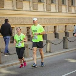Lattelecom Riga Marathon - Estere Cīrule (3263), Oskars Cīrulis (3264)