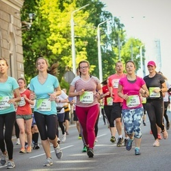Lattelecom Riga Marathon - Pia Ransmann (3846), Theresa Heering (3847), Agnese Girviča (6927), Raja Avetisjans (6949)
