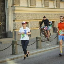Lattelecom Riga Marathon - Ganna Guseva (5135), Agris Belte (6947), Georgs Avetisjans (6948)
