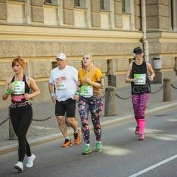 Lattelecom Riga Marathon - Ain-Ivar Tupp (2116), Eva Matīsa (5205), Lina Ivanina (5428), Laura Takala (7016)