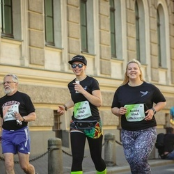 Lattelecom Riga Marathon - Rein Pärn (492), Agnese Uzrauga (6045), Anete Zvirbule (6046)