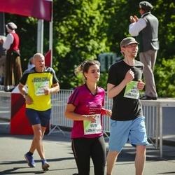 Lattelecom Riga Marathon - Jānis Donskis (4026), Alia Maaser (5518)